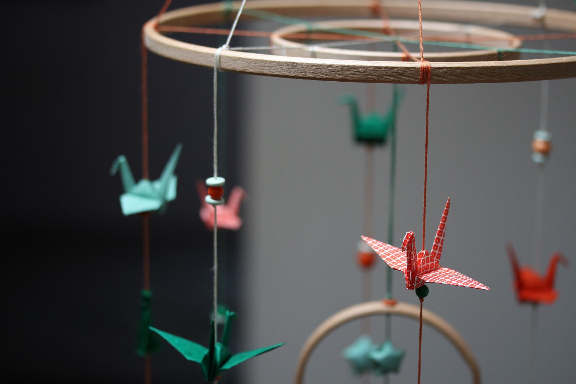 Mobile origami Martin