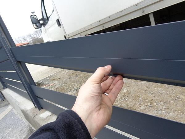 brise vue aluminium persienne