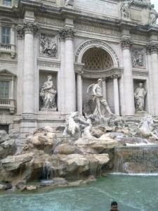 Rím-Fontana di Trevi