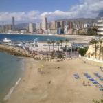 Pláž Malpas Benidorm