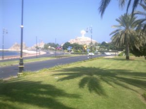 lacnéw dovolenky Riyam park Muscat