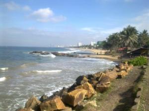 Pláž Mount Lavinia