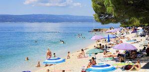 lacne dovolenky chorvatsko plaž