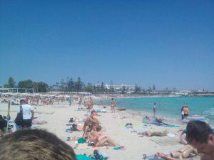 Nissi Beach v Aiya Napa lacne dovolenky