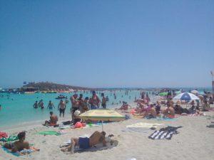 Nissi Beach v Aiya Napa lacné dovolenky