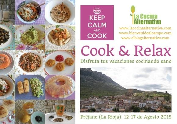 cook relax - COOK & RELAX: disfruta tus vacaciones cocinando sano