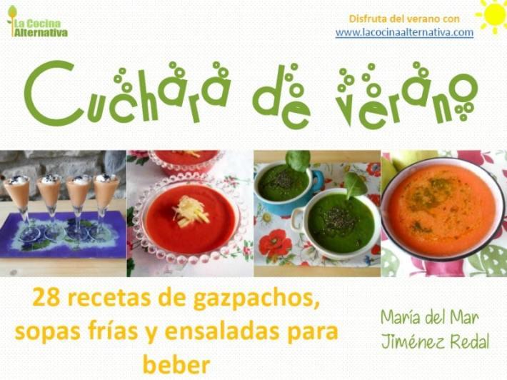 ebook verano 2018 - CUCHARA DE VERANO: recetario gratuito de gazpachos y sopas frías