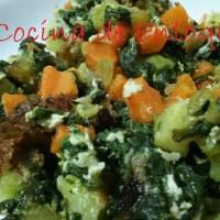 Revueltos y salteados de verduras ideales para la cena