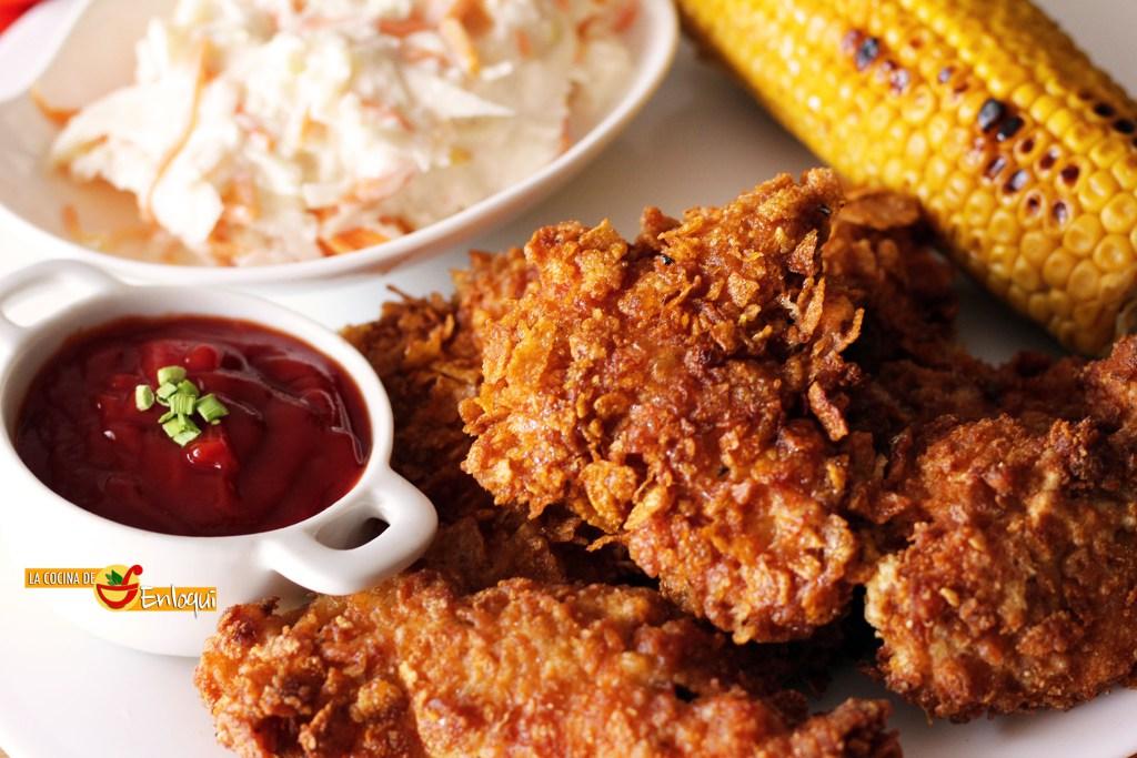 pollo crujiente crispy chicken kfc style