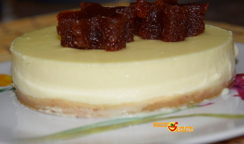 Cheesecake o tarta de queso sin horno