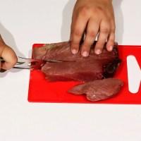 Brochetas de atún rojo