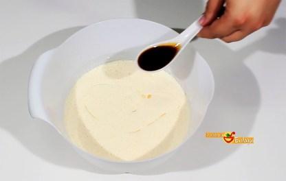 Elaboración del Bizcocho básico de vainilla