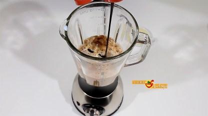 Café frappé de moka y chocolate