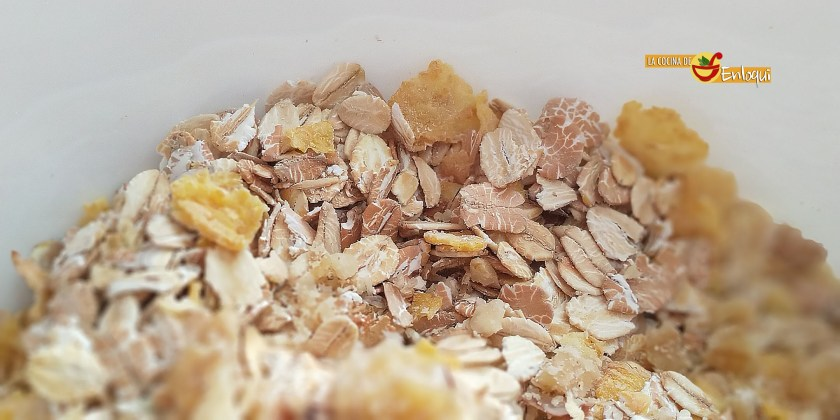 Granola casera sin azúcar