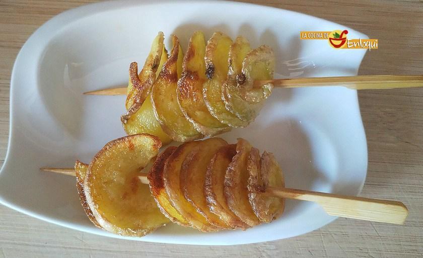 Patatas en espiral