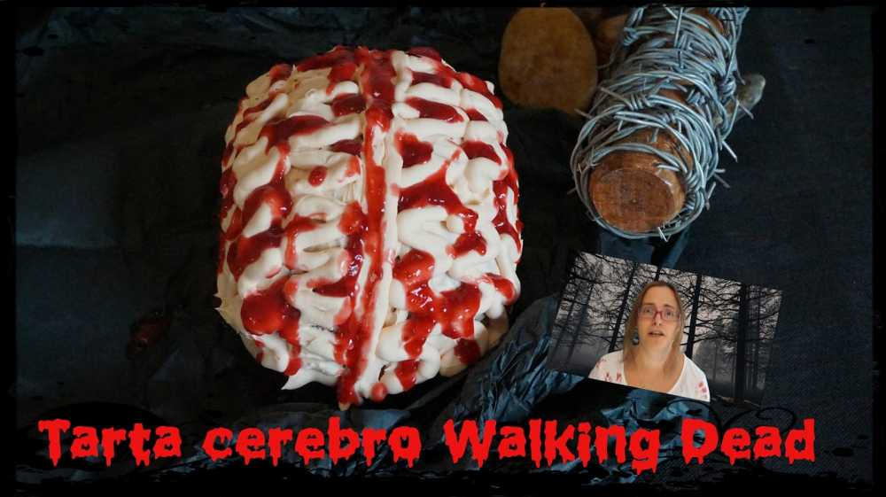 Tarta cerebro Walking Dead