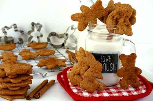 galletas de canela crujientes
