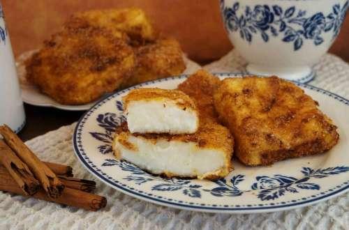 leche frita sin gluten para pascua