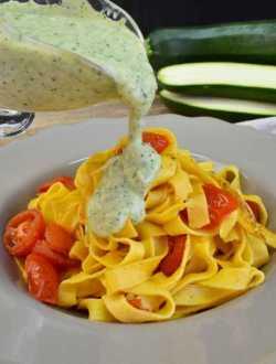 salsa de calabacin sin nata y sin harina