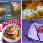 Cinco postres con merengue
