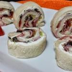 Rollito de pan de molde