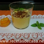 Mousse de naranja en microondas