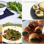 Cinco recetas de espinacas