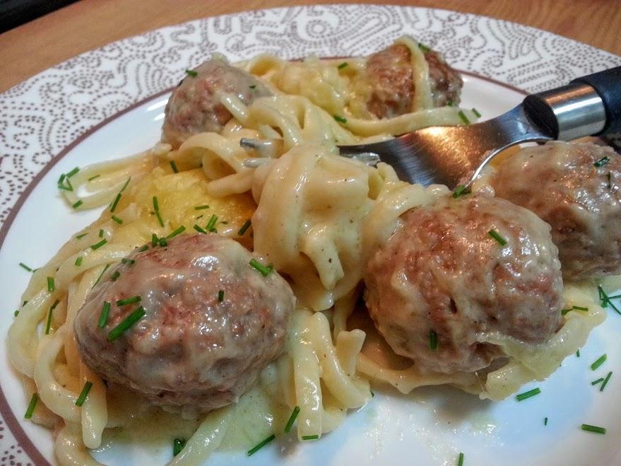 66c6847f1 Albóndigas suecas con queso - La Cocina de Pedro y Yolanda