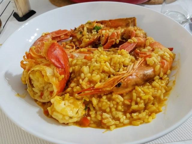 arroz meloso con bogavante