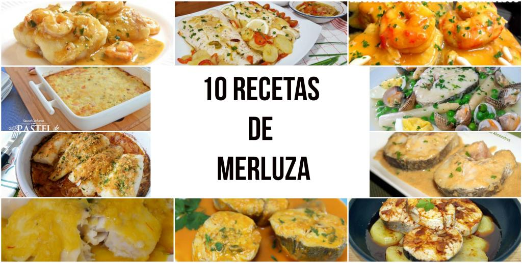10 recetas de merluza
