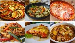 menú verde, menú saludable