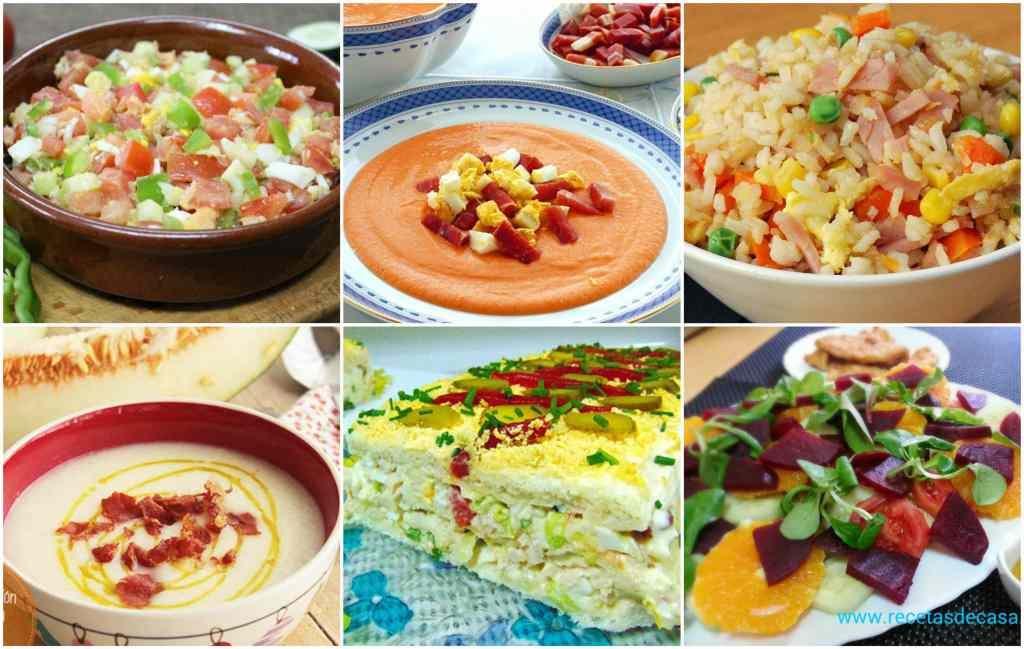 Recetas De Verano Menú Semanal 58 La Cocina De Pedro Y