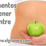 12 alimentos para tener un vientre plano