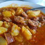 Patatas riojana en 10 minutos
