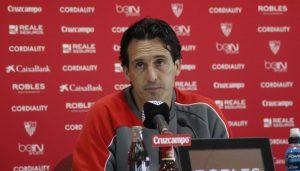 """Emery: """"El partido de mañana es una oportunidad para ofrecer ilusión"""""""