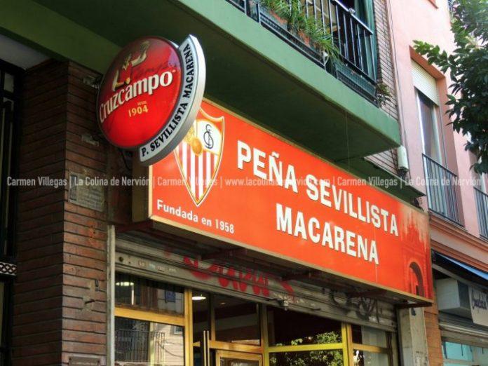 Peña Sevillista Macarena: sevillistas y macarenos, desde 1958