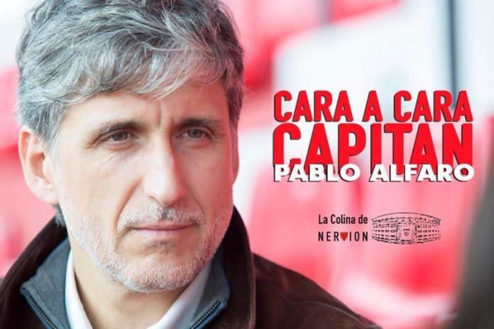 Pablo Alfaro: «Fue duro salir del Sevilla»