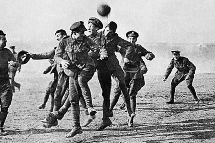 El fútbol que silenció la guerra