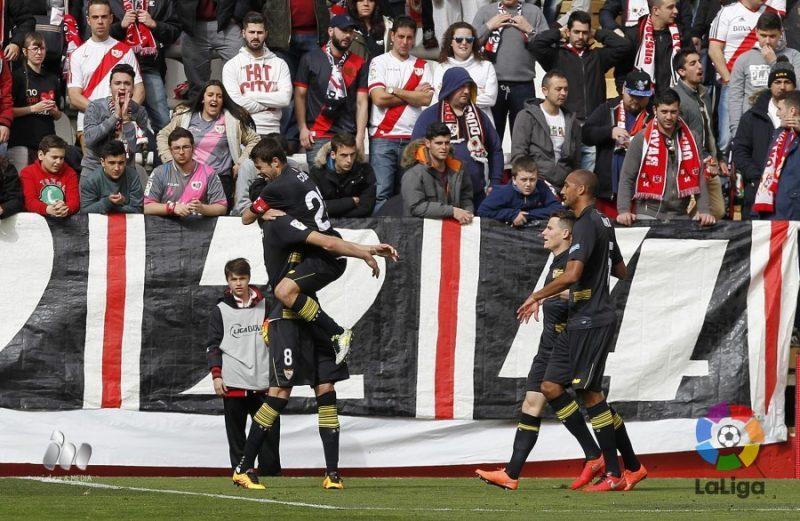 Rayo 2 – 2 Sevilla. Perdonó y lo pagó