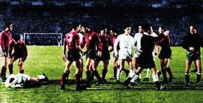 Me encanta ganarle al Real Madrid