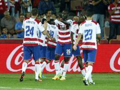 El Granada en el partido contra el Athletic   Foto: Granada CF