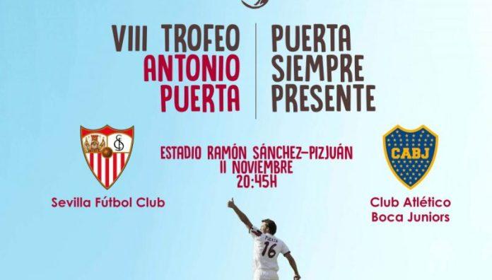 A la venta las entradas del VIII Trofeo Antonio Puerta
