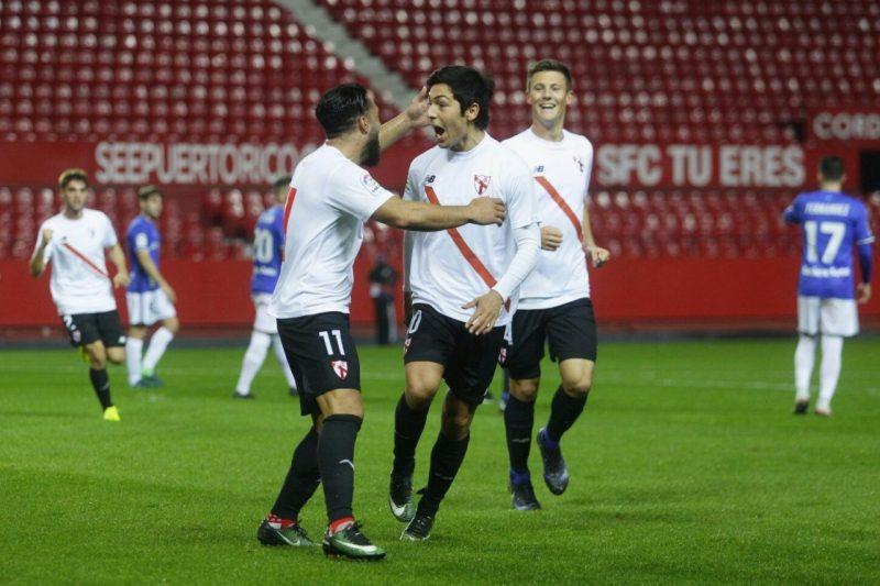 Galería fotografica Sevilla Atlético 5 – 3 Oviedo