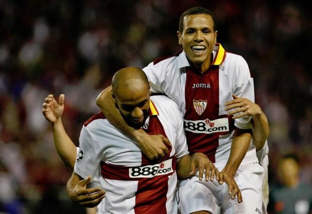 Dos de los mejores delanteros de la historia del Sevilla FC