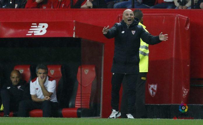 """Sampaoli: """"El equipo ha encontrado la felicidad en ataque"""""""