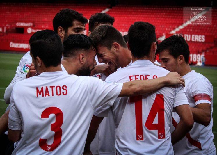 El filial sevillista despide la temporada con derrota