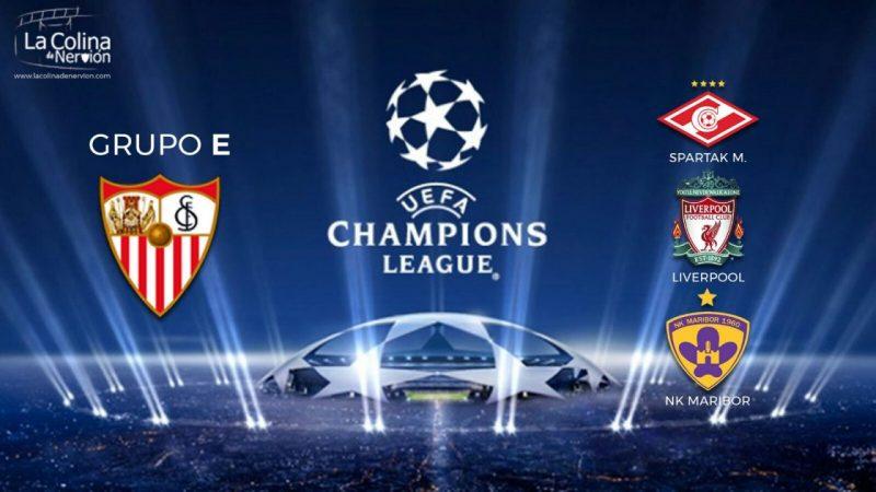 Spartak Moscú, Liverpool y Maribor, los rivales de la Champions League