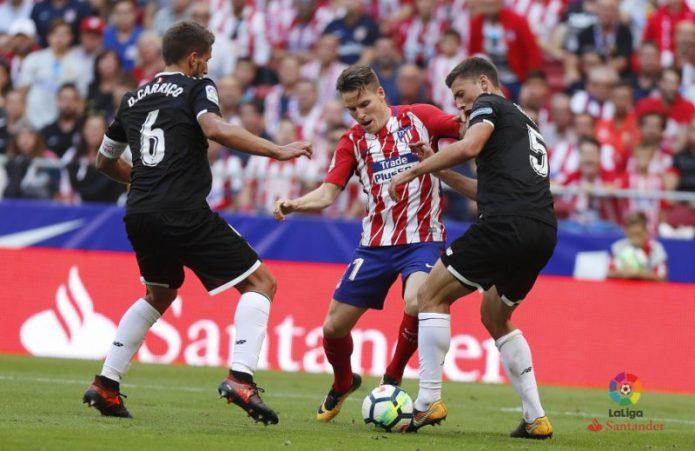 Carrasco y Griezmann sentenciaron al Sevilla en el Wanda