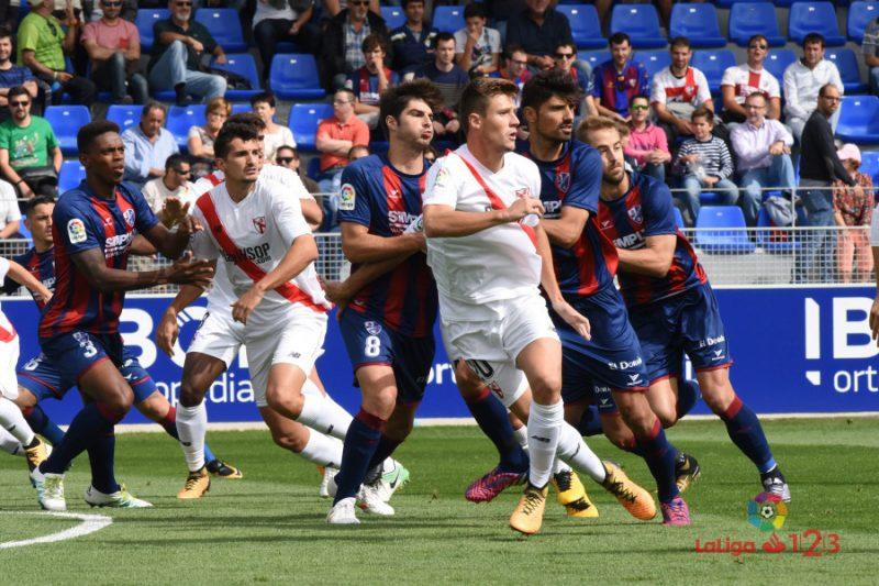 El Sevilla Atlético resiste en El Alcoraz