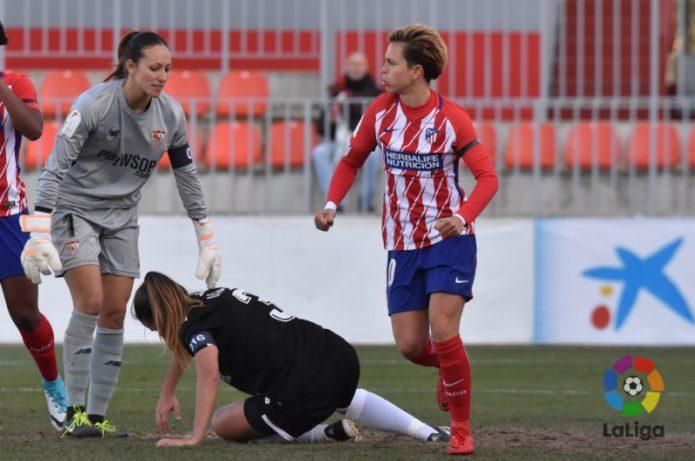 Buena imagen ante el Atlético pese a los errores defensivos